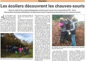 Article Vosges Matin, 18 décembre 2015