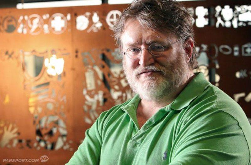 Gabe Newell Beard