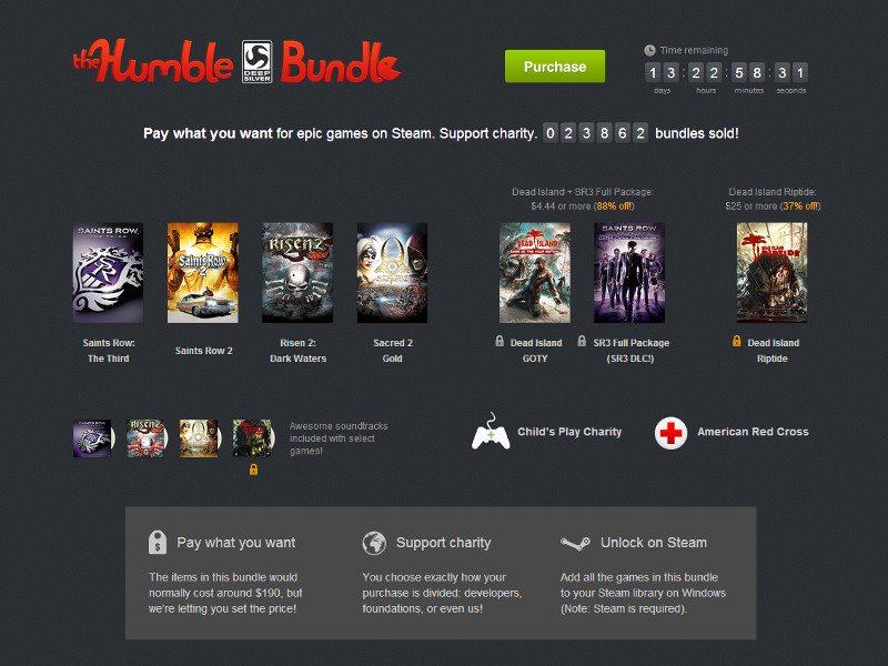 Humble Deep Silver Bundle Games