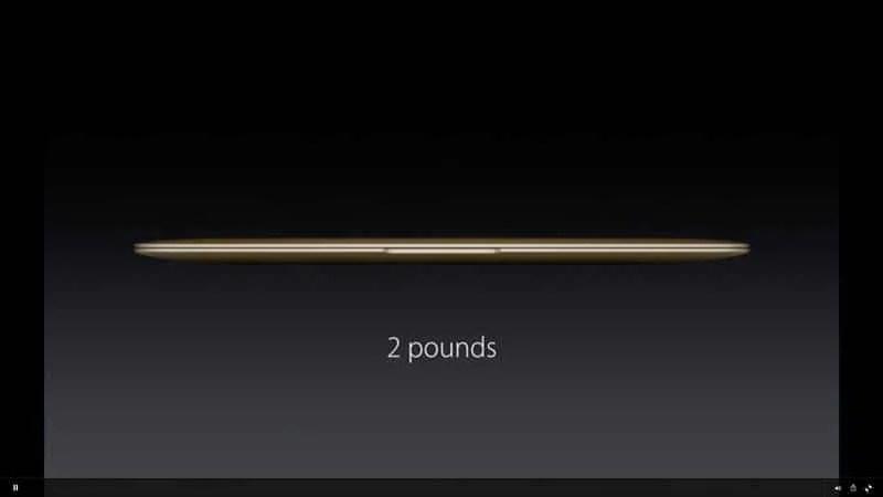 New Gold Macbook 2