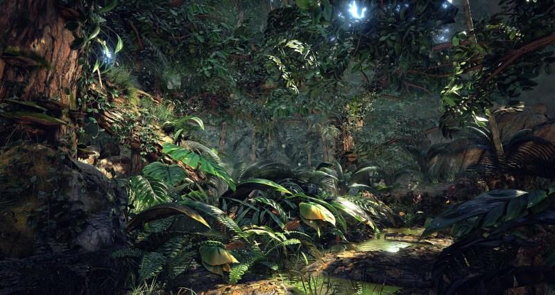 Unreal-Engine-4-Quixel's-Jungle-Environment-7