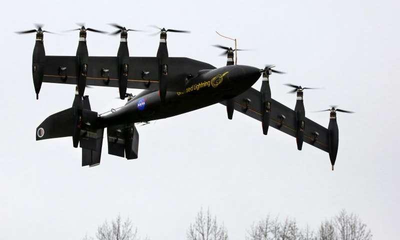 nasa electric plane