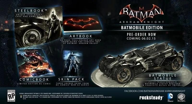 Arkham Knight Batmobile Edition