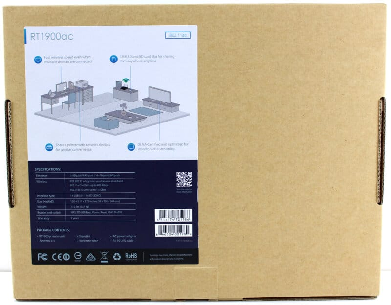 Synology-RT1900ac-Photo-box rear