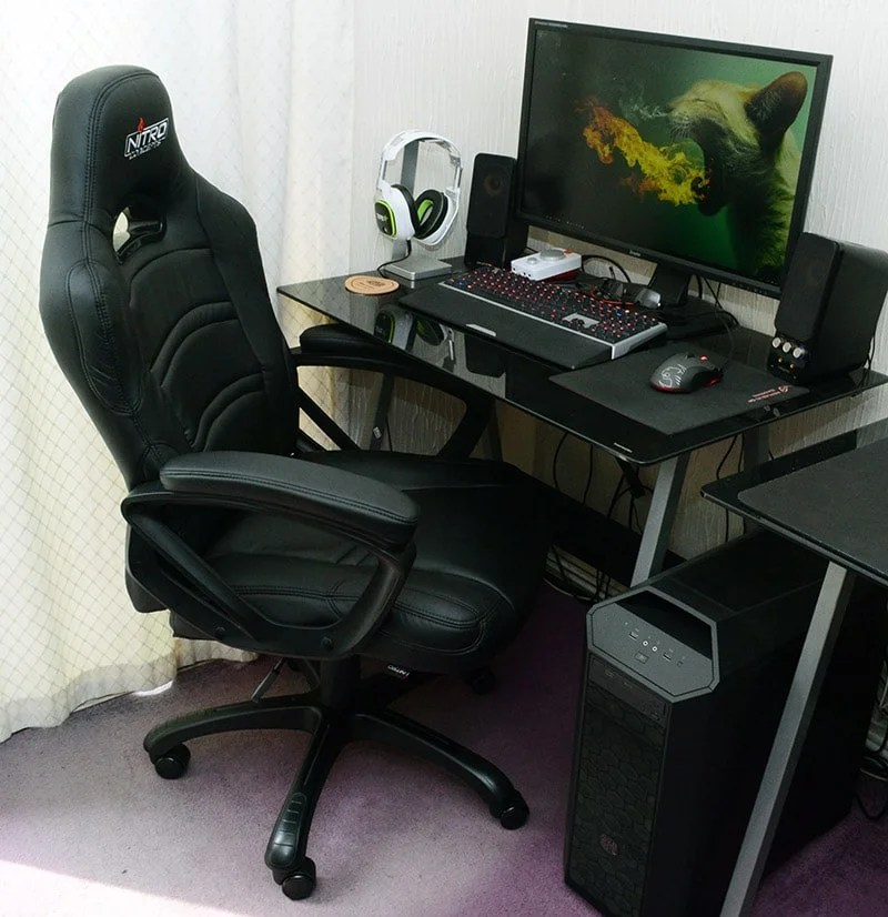 Nitro Concepts C80 Comfort Carbon Class Gaming Chair