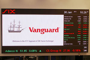 Vanguard makes ETF debut on SIX Swiss Exchange
