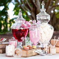 DIY Vegan Wedding Candy Buffet