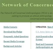 Network of concerned anthropologists