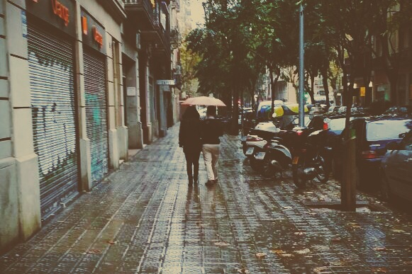 Falling In Love with the City that Hates Rain