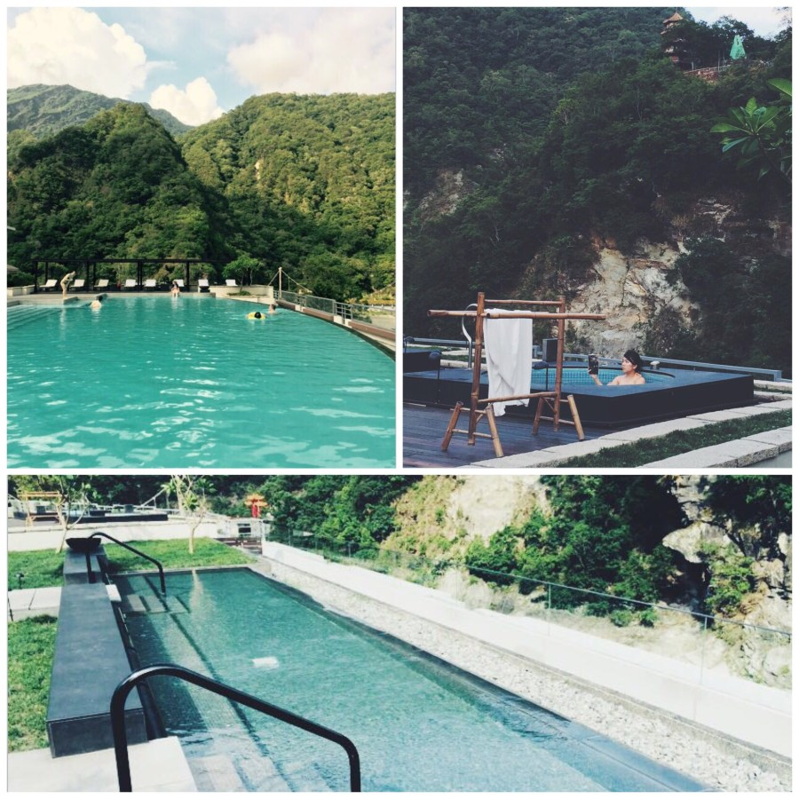 Silks Place Taroko Rooftop Pool