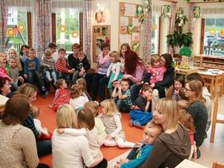 Muttertagsfeier im Kindergarten