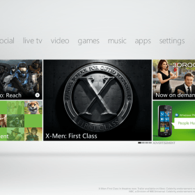 E3 2011 New Xbox Live Dashboard