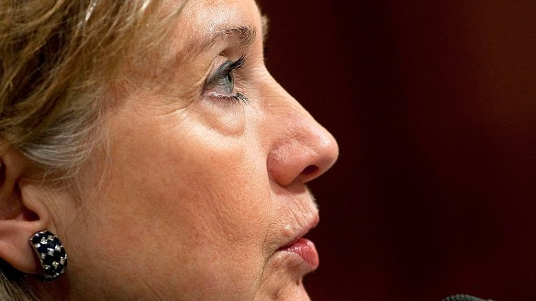 Hillary Clinton. DoD photo by U.S. Navy Petty Officer 1st Class Chad J. McNeeley, Wikipedia Commons.