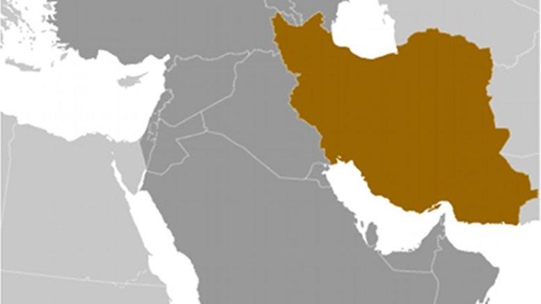 Location of Iran. Source: CIA World Factbook.