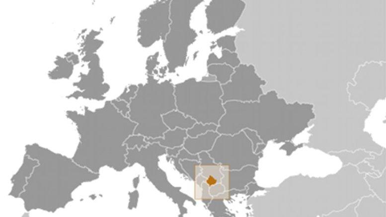 Location of Kosovo. Source: CIA World Factbook.