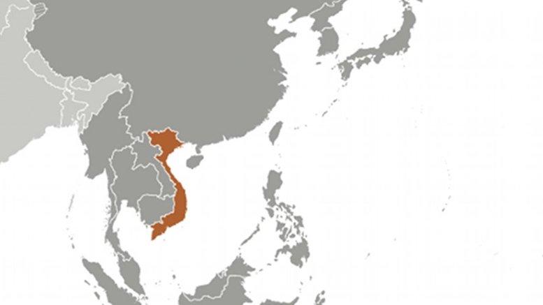 Location of Vietnam. Source: CIA World Factbook.