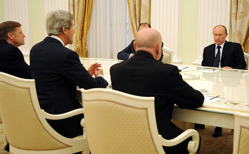 Putin's Progress In Syria Sends Kerry Scampering To The...