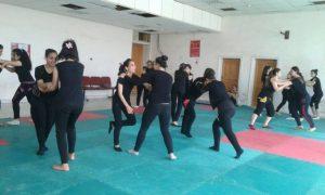 Training for Labawat al-Jabal. Photo via Syria Comment.