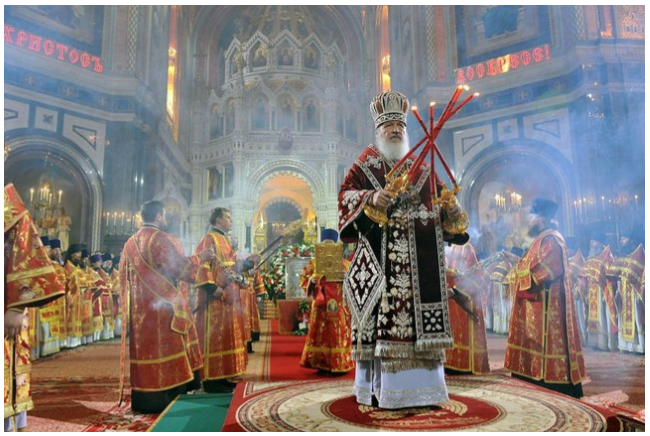 Picture2-Liturgy with Patriarch