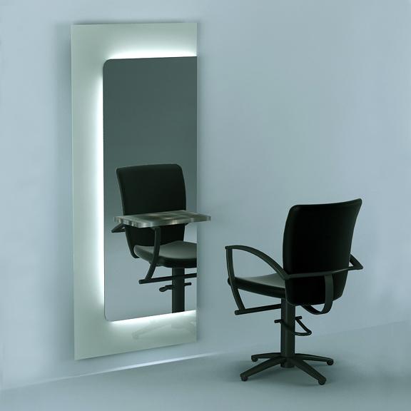 Illuminated Salon Mirrors Salon Furniture Salon Mirrors