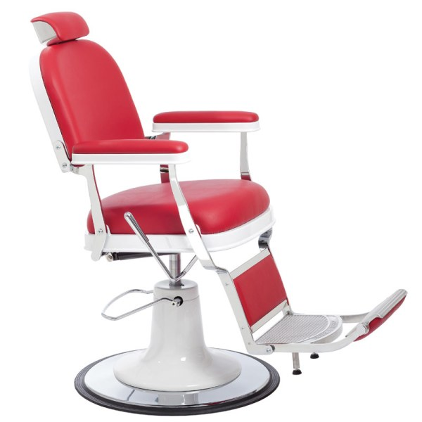 Zerbini Barber Chair red white