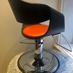 Curved Art Salon Styling Chair2