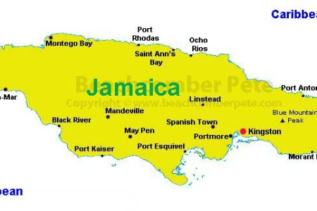 a map of jamaica1