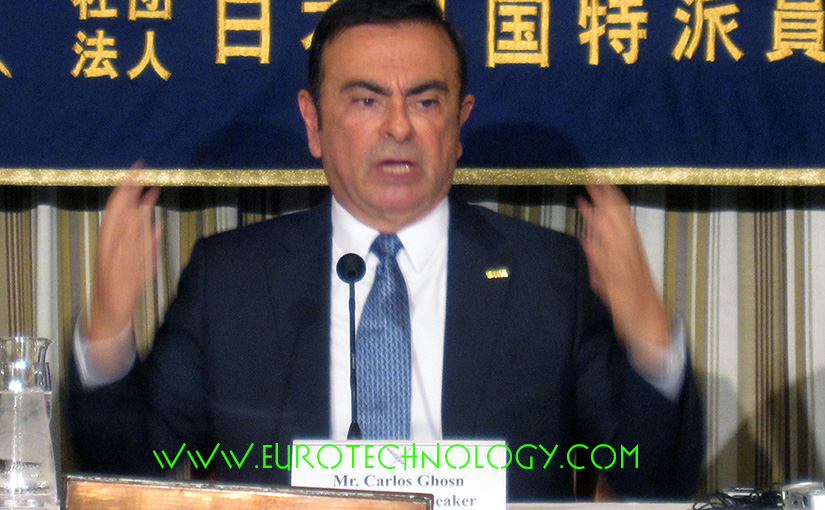 "Carlos Ghosn: ""the four global socio-economic mega-trends reshaping the auto industry"" Carlos Ghosn, Chairman and CEO of Renault, Nissan and the Renault-Nissan Alliance"