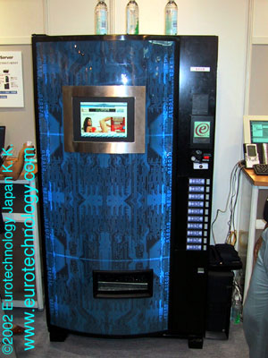 IBM vending machines for mobile payment