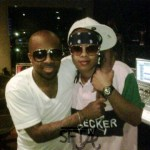Jermaine Dupri records with Da Brat on May 26, 2010