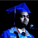 Deonte Bridges, Valedictorian of Booker T. Washington High School in Atlanta , Ga.