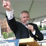Andrew Breitbart at Philadelphia Tea Party rally on Saturday, July 31