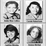 Victims of the 16th St. Baptist Church bombing in Birmingham, Sept. 15, 1965