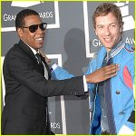 Jay-Z and Chris Martin of Coldplay
