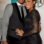 Monica and her fiance' Shannon Brown of the LA Lakers