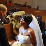 Ginuwine's love interest, played by Malinda Williams, stands at the alter with her new man