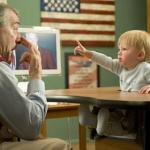 De Niro and baby Focker in scene from 'Little Fockers'