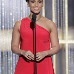 Alicia Keys is shown during the Golden Globe Awards, Sunday, Jan. 16, 2011 in Beverly Hills, Calif.