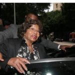 Katherine Jackson, Michael Jackson&#039;s mother, leaves court after a hearing for Jackson&#039;s doctor, Conrad Murray, Thursday Jan. 6, 2011 in Los Angeles.