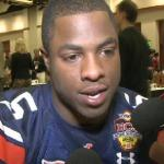 Auburn running back Michael Dyer