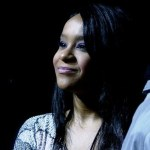 Bobbi Kristina attends the concert of Withney Houston held at Mediolanum Forum on May 3, 2010 in Milan, Italy.