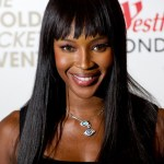 Naomi Campbell launches a new Pop Up store in aid of Fashion For Relief at Westfield London shopping centre on April 5, 2011 in London, England.