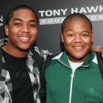 Christopher (L) and Kyle Massey