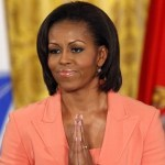 First lady Michelle Obama speaks during the launch of &quot;Joining Forces&quot;, a national initiative in support of service members and their families, in the East Room at the White House in Washington, April 12, 2011.