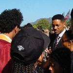 Will Smith was on hand to see his son graduate from high school