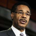 U.S. Rep. Emanuel Cleaver (D-MO), Chair of the Congressional Black Caucus, speaks during a news conference July 20, 2011 on Capitol Hill in Washington, DC. (July 20, 2011)