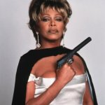 tina turner with pistol