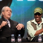 (L-R) Comedian/actor Robert Klein, and comedian/actor Arsenio Hall speak during the 'The Ed Sullivan Comedy Special' panel during the PBS portion of the 2011 Summer TCA Tour held at the Beverly Hilton Hotel on July 31, 2011 in Beverly Hills