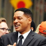 Will Smith filming the much anticipated &quot;Men in Black 3&quot; in New York. The actor seemed to be enjoying his work, as he laughed and joked with director Barry Levinson on set. (June 11, 2011)