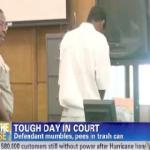 teen peeing in court